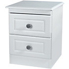 more details on Paisley Kids 2 Drawer Bedside Cabinet - White.