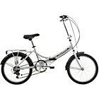 more details on Mizani City+ 20 Inch Folding Bike Silver - Unisex'.