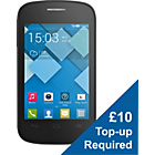 more details on EE Alcatel One Touch Pop C1 Mobile Phone - Black.
