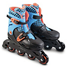 more details on Zinc Inline Roller Skates 13-3 - Blue.