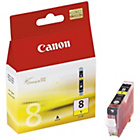 more details on Canon CLI8 Standard Ink Cartridge - Yellow.