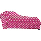 more details on Lara Children's Chaise - Pink Hearts.