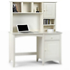 more details on Cameo Storage Hutch Top for Cameo Desk - Stone White.