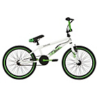 more details on Rad Outcast 20 Inch BMX - White/Green.