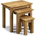 more details on Coxmoor Oak Nest of Tables - Set of 3.