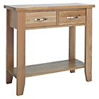 more details on Harvey Oak Small Console Table.