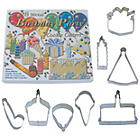 more details on Happy Birthday Cookie Cutter Set - Assorted.