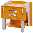 more details on JCB Jigsaw Bedside Cabinet - Yellow.