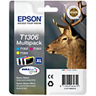 more details on Epson Stag T1306 XL Ink Cartridge - Pack of 3.