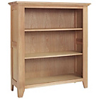 more details on Harvey Oak Ready Assembled Low Bookcase.