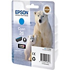 more details on Epson Polar T2612 Standard Ink Cartridge - Cyan.