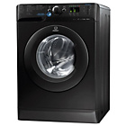 more details on Indesit Innex XWA 81252X K Washing Machine - Black