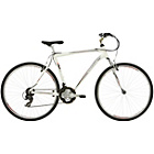 more details on Mizani Zone HT 18 Inch Hybrid Bike White - Mens'.
