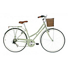 more details on Kingston Hampton 19 Inch Frame Hybrid Bike Sage - Ladies'.