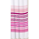 more details on Sabichi Stripe Shower Curtain - Raspberry.