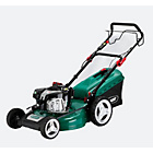 more details on Qualcast 51cm Wide Self-Propelled Petrol Lawnmower - 161CC.