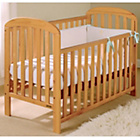 more details on East Coast Anna Drop Side Cot - Antique.