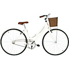 more details on Kingston Belgravia 16 Inch Frame Hybrid Bike White - Ladies'
