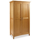 more details on Hoeger Ladies 2 Door Wardrobe - Oak.