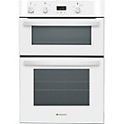 more details on Hotpoint DH53WS Double Electric Oven - White.