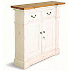 more details on Catalan Rustic Small Sideboard - White.