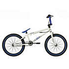 more details on Rad Player 20 Inch BMX - White/Blue.