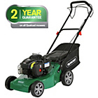more details on Qualcast 41cm Wide Push Petrol Lawnmower - 125CC.