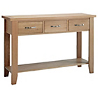 more details on Harvey Oak Ready Assembled Large Console Table.