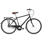more details on Kingston Park Lane 19 Inch Frame Hybrid Bike Black - Mens'.