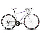 more details on Mizani Aero 100 44cm Frame Road Bike White - Ladies'.