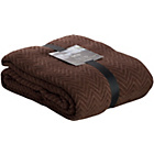 more details on Sabichi Zig Zag Throw - Chocolate.