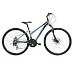 more details on Mizani Zone DD 18 Inch Hybrid Bike Grey - Ladies'.