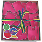 more details on Alphabet Cookie Cutter Set - Assorted.