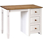 more details on Caprice Single Pedestal Dressing Table - White.