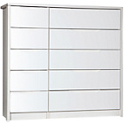 more details on Avola 5 Drawer Double Chest - White.
