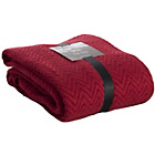 more details on Sabichi Zig Zag Throw - Scarlet.