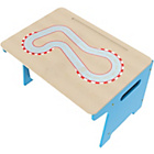 more details on Millhouse Kids' Toy Box and Desk - Race Track.
