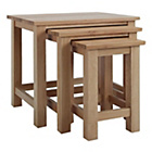 more details on Harvey Oak Ready Assembled Nest of Tables.