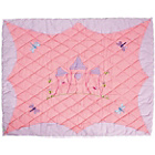 more details on Win Green Princess Castle Cotton Floor Quilt - Large.