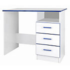 more details on Kiddi Study Desk with Drawers - Blue.