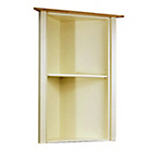 more details on Lancaster Corner Display Cabinet Top - Ivory.