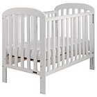 more details on East Coast Anna Drop Side Cot - White.