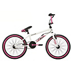 more details on Rad Outcast 20 Inch BMX - White/Pink.