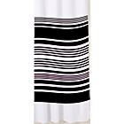 more details on Sabichi Stripe Shower Curtain - Noir.