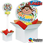 more details on Get Well Monkeys Bubble Balloon in A Box.