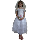 more details on Bride Dress with Flowers and Veil Dress Up Costume.