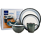 more details on Denby 16 Piece Dinner Set - Denim.