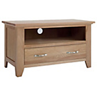 more details on Harvey Small Oak Ready Assembled TV Unit.