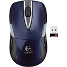 more details on Logitech M525 Wireless Mouse - Blue.