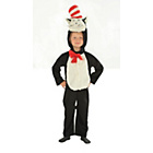 more details on Cat in the Hat Dress Up Costume with 3D Hood.
